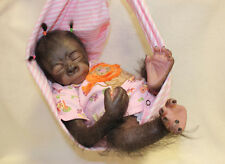 PeArL BaBy GoRiLLa MADE TO ORDER ~ REBORN DOLL