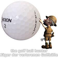 50 weiße Srixon Q-Star gebrauchte Golfbälle - Lakeballs AAA - AA Qualität S-2