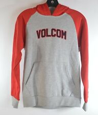 2015 NWT YOUTH BOYS VOLCOM RYKER ATHLETIC PULLOVER  HOODIE $50 heather grey