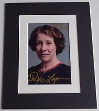 Phyllis Logan Signed Autograph 10x8 photo display Downton Abbey TV AFTAL & COA