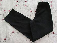 Ann Taylor BLACK Stretch Pant  98% Cotton 2% Spandex Size 4