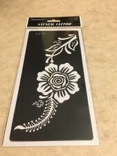 FREE SHIP!!1 Pc Reusable Henna Stencil Temporary Tattoo Sticker DYI #S216