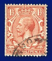 1924 SG420 1½d Red-Brown N35(1) Good Used axly