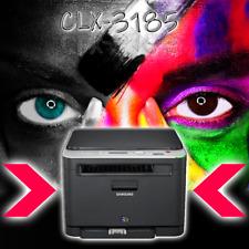 SAMSUNG CLX-3185 3 in 1 MFP Farblaserdrucker OHNE Toner