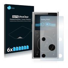 6x Film Protection écran pour FiiO X1 II Protecteur