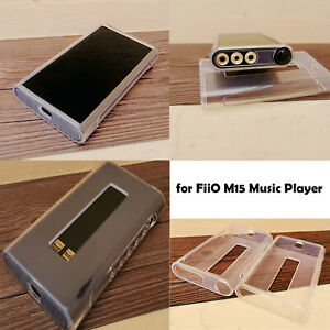 For FiiO M15 Soft TPU Protective Case Clear Sleeve Bag Full Protection Cover Box