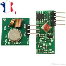 Module Rf 43392 Mhz Transmitter Receiver For Mounting With Arduino Raspberry