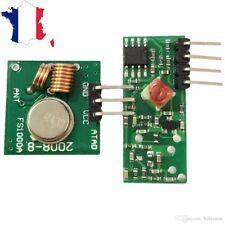 Module RF 433.92 Mhz émetteur + récepteur pour montage avec arduino, raspberry