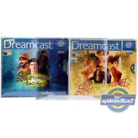 1 x Shenmue Game BOX PROTECTOR 0.5mm Plastic Display Case for Sega Dreamcast