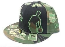 "New Era 5950 NBA Hardwood Classics Multi Team Logo Fitted Basketball Cap 7 1/2"""