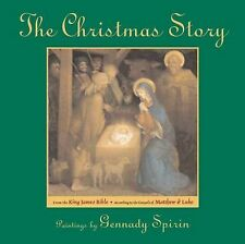 The Christmas Story: From The King James Bible-ExLibrary