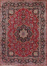 8'x11' Vintage Floral Mood Oriental Area Rug Wool Hand-Knotted Home Decor Carpet
