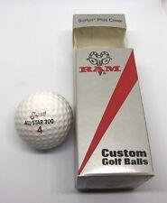 Vintage Ram Super All Star 300 Golf Balls New In Box