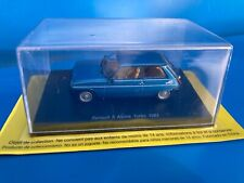 RENAULT  5  ALPINE  TURBO  1982   -   IXO / HACHETTE  - TEST -  1/43