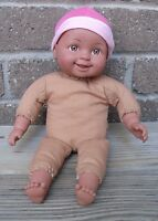 """Cititoy You & Me Toys R Us African American Black baby Girl Vinyl doll 13"""""""