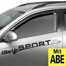 Life 2K SW 4 Türer  Climair Windabweiser mit ABE Tiefschwarz VW Caddy IV