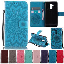 Sunflowers Stand Wallet Leather Flip Case Cover For Huawei Nova P10 Honor 6X 5C