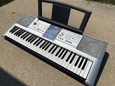 Yamaha PSR-E323 Keyboard, 61 Keys, Good Condition , Power Supply And Music Rack