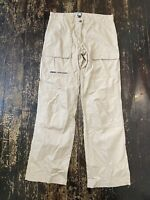 MUSTO Evolution Casual Trousers Walking Outdoors 12 L Long Cargo Pockets