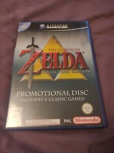 The Legend of Zelda - Collector's Edition (GameCube, 2003) COMPLETE WITH MANUAL