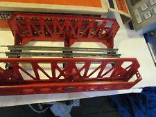 Exceptional Lionel 270 Bridge, red, with original box  1932 to 1940