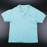 LACOSTE  Blue 00s Short Sleeve Polo Shirt Mens M