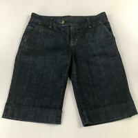 Citizens of Humanity Women's Denim Shorts Dark Wash Size 28 Long Length