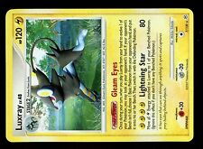 POKEMON DIAMOND & PEARL HOLO N°   7/130 LUXRAY 120 HP