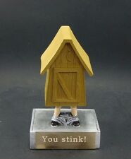 Fantasy Football . Last Place Outhouse  Award. Free engraving.