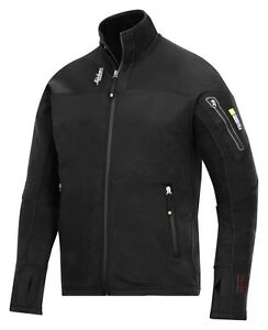 SNICKERS 9438 BODY MAPPING MICRO FLEECE JACKET BLACK VARIOUS SIZES