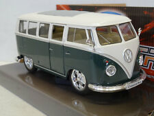 Welly: Volkswagen T1 Spijlbus 1962 Custom Groen-Wit