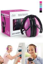 Ear Muffs Hearing Noise Block Protection Shooting Range Hunting Muff Women Girls