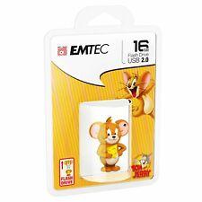 Clé USB 16Go 16Gb EMTEC Tom & Jerry (Jerry) 16 Go Gb photo vidéo mp3 neuve