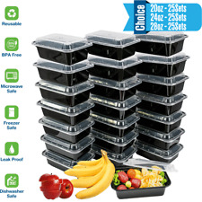 Meal Prep Containers with Lids-Reusable Containers, Food Prep Freezer Safe,