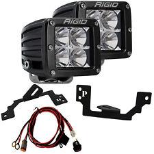RIGID LED Fog Light Kit & D-Series PRO for Dodge Ram 1500 2500 3500 202213 46541