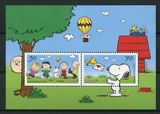 Germany 2018 MNH Peanuts Gang Snoopy Charlie Brown 2v M/S Cartoons Stamps