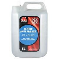 Millers Oils Alpine Antifreeze / Coolant BT Blue Concentrate - 5 Litres 5L
