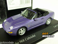 PORSCHE 968 CADDY 1994 -1 / 43 SCALA Minichamps Modello Auto Viola 400062331