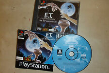 1 X COMPLETA SONY PLAYSTATION 1 PS1 PSone GIOCO E.T. ET L'Extra-Terrestre