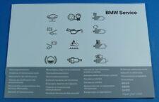 originale. BMW servicebook scheckheft Révision Livret pour BMW 1 modèle