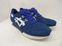 Asics Men's GEL-LYTE III 3 Athletic Casual Sneakers Blue/White Size 12M