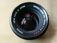 Canon fd 50mm f1.4 SSC sn 686.054
