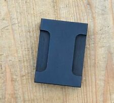 "letter ""I"" letterpress wood block rare wonderful patina alphabet printing"