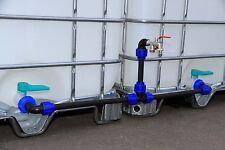 Set conexión para 2 Tanques - Con Doble Grifo de Purga - Estable conexión #2011s