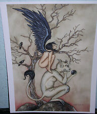 Amy Brown - Crow Girl Ii - Out Of Print