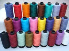 25  ALL PURPOSE 100% PURE COTTON THREAD 500 Meters each 25 Diff colors