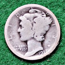 1921 MERCURY DIME in GOOD (G) CONDITION