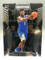 "2019-20 Panini Prizm Draft  - ZION WILLIAMSON - ""RC"" - #64 - PELICANS / ROOKIE"
