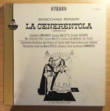"Rossini: La Cenerentola (Cinderella), Mario Rossi 12"" Double LP, S-432/2 VG"