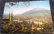 Switzerland Luzern mit Pilatus - posted 1978
